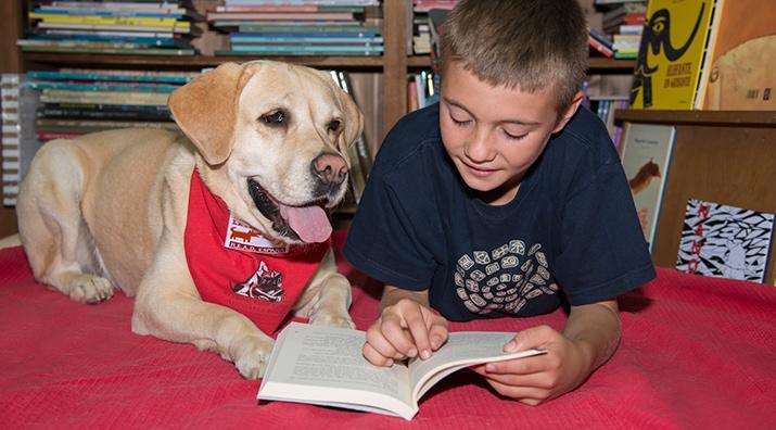 Perros y Letras - Los animales en el proceso terapéutico de los niñ@s y su convivencia en el hogar